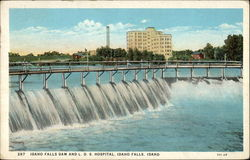 Idaho Falls Dam and L.D.S. Hospital