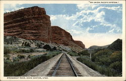 Steamboat Rock, Echo Canyon