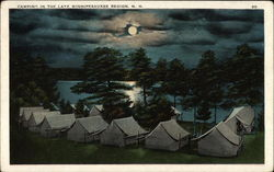 Camping in the Lake Winnipesaukee Region, N.H