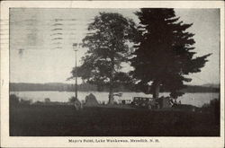 Mayo's Point, Lake Waukewan