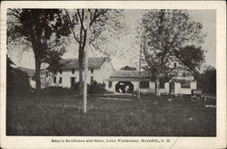 Mayo's Residence and Store, Lake Waukewan