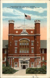 Administration Building Towers, State Teachers College Postcard