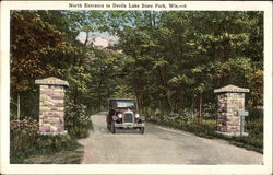 North Entrance to Devils Lake State Park