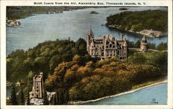 Boldt Castle from the Air, Alexandria Bay