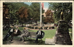 Men in Summerifeld Park