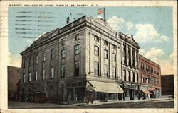 Masonic and Odd Fellows' Temples