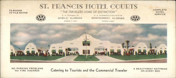 St. Francis Hotel Courts Mobile Alabama