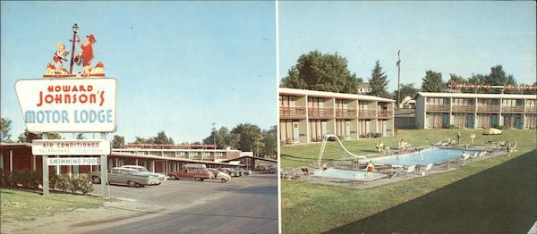 Howard Johnson 39 S Motor Lodge Syracuse North