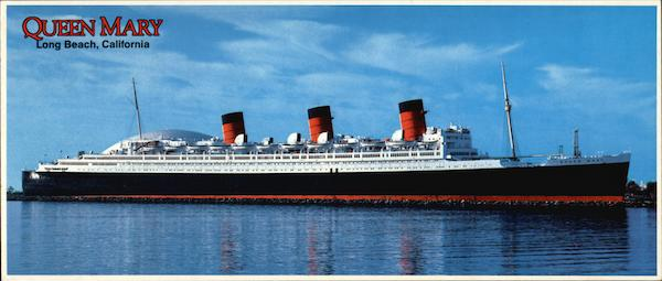 Queen Mary - The Stateliest Ship Long Beach California