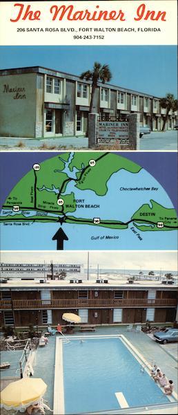 Santa Rosa Beach Fl >> The Mariner Inn - Motel and Apartments Fort Walton Beach, FL