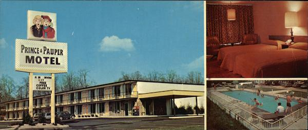 The Prince and Pauper Motel Knoxville Tennessee Gene Aiken