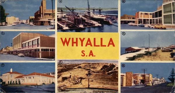 Greetings from Whyalla Australia