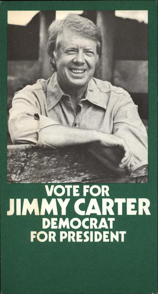 Vote for Jimmy Carter