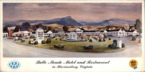 Belle Meade Motel and Restaurant Harrisonburg Virginia