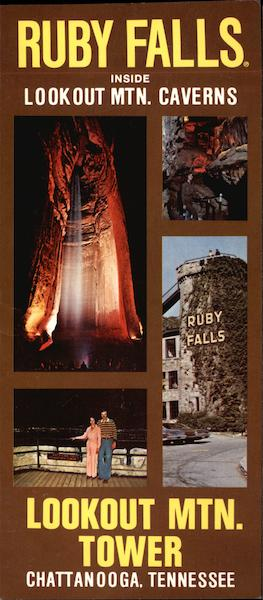 Ruby Falls and Lookout Moutain Tower Chattanooga Tennessee