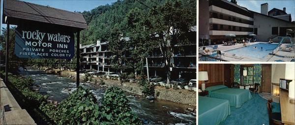 rocky waters motor inn gatlinburg tn