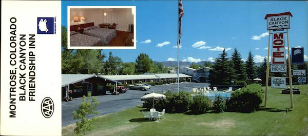 Black Canyon Friendship Inn Montrose Colorado