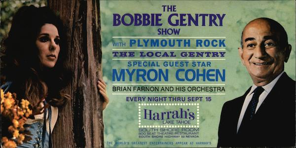 The Bobbie Gentry Show with Plymouth Rock Lake Tahoe Nevada