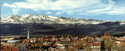 Mount Massive Seen From Nearby Leadville Large Format Postcard