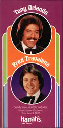 Tony Orlando; Fred Travalena; Sandy Shire