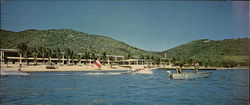 The Beach Motel of St. Croix Large Format Postcard
