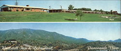 Wattstull Inn & Restaurant, Panoramic View, Plus Pool Large Format Postcard