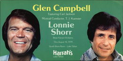 Glen Campbell and Lonnie Shorr