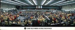 Chicago Mercantile Exchange Large Format Postcard