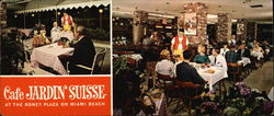 Cafe Jardin Suisse - At the Roney Plaza on Miami Beach