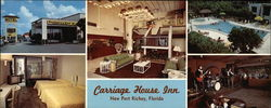 Carriage House Inn Large Format Postcard