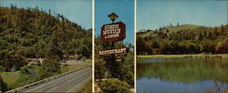 Humbug Mountain Lodge & Restaurant Large Format Postcard