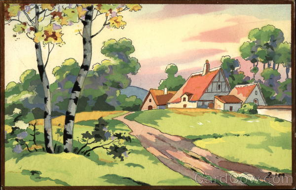 Countryside France Zim Art