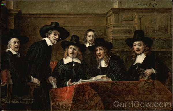 Rembrandt. The Syndics. Amsterdam Art