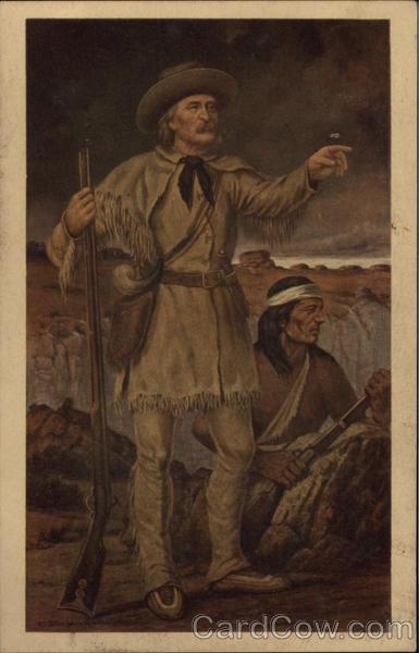 Christopher Kit Carson 1809 1868 Cowboy Western