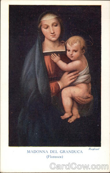 Madonna del Granduca by Raphel Art