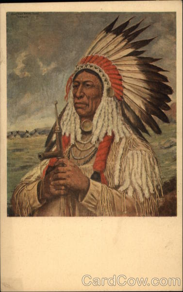 Steal Horses - Oglala Sioux Chieftain Native Americana