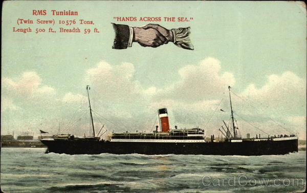 RMS Tunisian, Hands Across the Sea Boats, Ships
