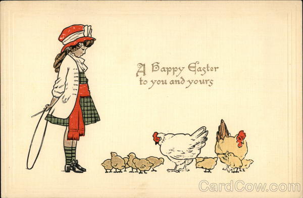 A Happy Easter to You and Yours With Chicks