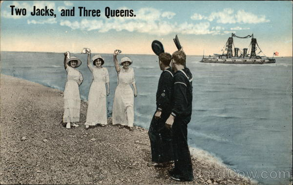Two Jacks, and Three Queens Military