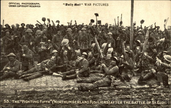 The Fighting Fifth (Northumbeland Fusiliers) After the Battle of St. Eloi
