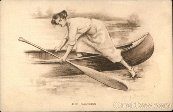 Canoeing Canoes & Rowboats