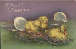 A Joyful Easter with Chicks & Duckling