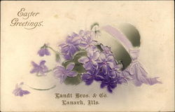 Easter Greetings Landt Bros. & Co. Lanark, Ills