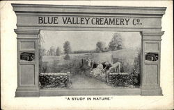 Blue Valley Creamery Co. Postcard