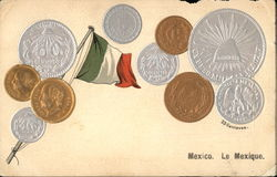 Flag & Coins of Mexico