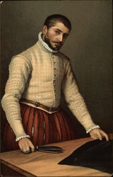 Portrait of a Tailor, Moroni, National Gallery