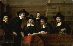 Rembrandt. The Syndics. Amsterdam