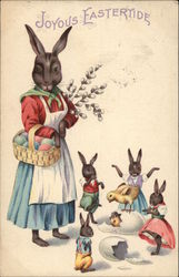 Joyous Eastertide with Bunnies & Chicks