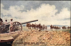 Australian Heavy Gun at Work