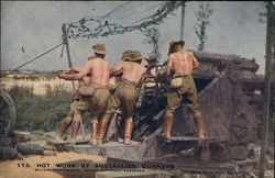 Hot Work by Australian Gunners